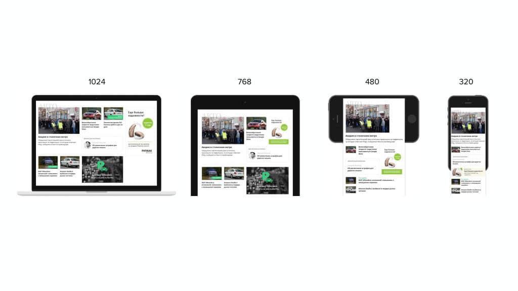 Що таке адаптивний сайт? — компанія «Brainlab». Фото 2