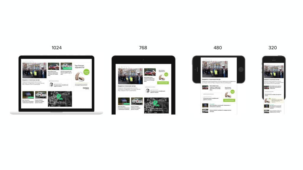 Что такое адаптивный сайт? — компания «Brainlab». Фото 3