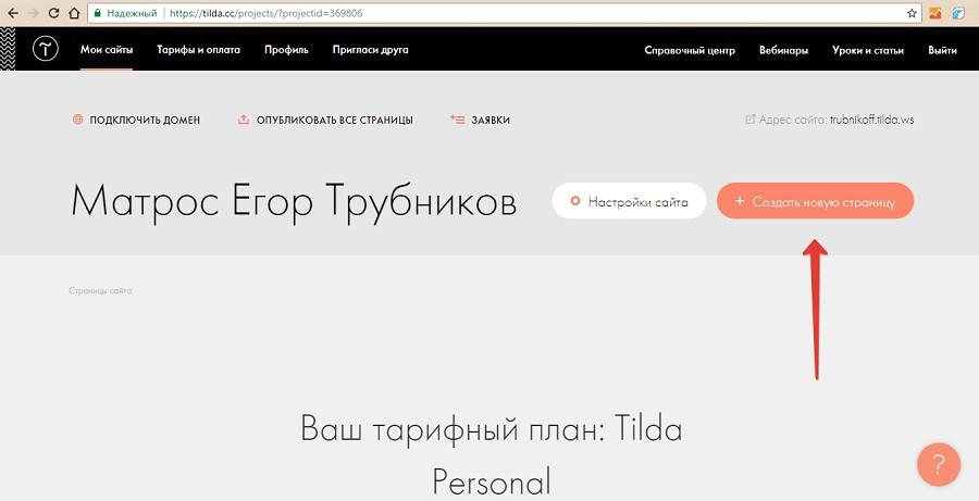 Как создать сайт на тильде: пошаговая инструкция — компания «Brainlab». Фото 8