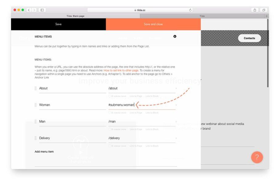 Як створити сайт на тильді: Покрокова інструкція — компанія «Brainlab». Фото 9